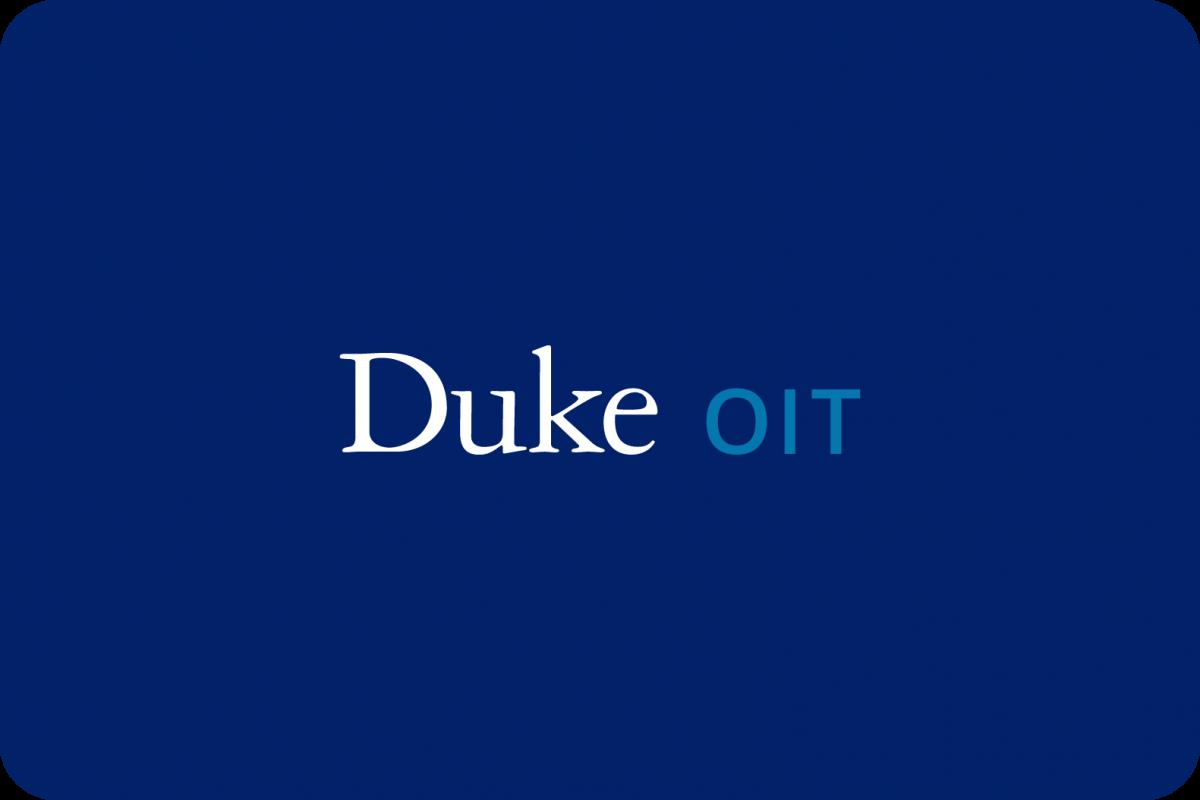 Duke OIT logo