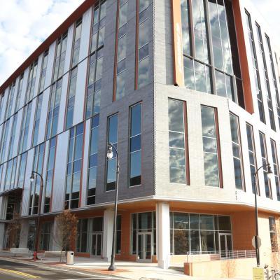 The DCRI building at 200 Morris, Durham